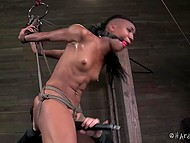 Black dudette had bad luck of coming to real dominant who showed her what did sweet pain mean 5