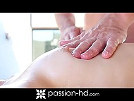 It's was enjoyable massage time and pleasing Lexy Lotus stopped swimming in the pool 5