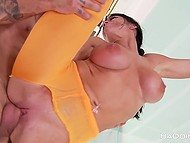 Dudette loves to fuck in front of mirror to see herself because it excites her even more 9