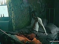 Frank scenes from feature film with participation of a ginger actress who fleshes body and gets fucked 7