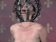 Maniac is torturing his victim and bringing her to multiple orgasms with help of vibrator 9