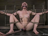 Young honey wanted to feel the thrills and became lustful man's prisoner in the basement