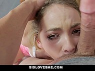 Minx Angel Smalls makes a pass at stepbrother persistently and he can't say no 6