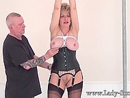 Mature couple adores BDSM games because these entertainments excite them too much 11