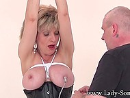 Mature couple adores BDSM games because these entertainments excite them too much 8