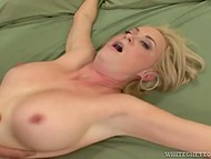 Babe is fucked by stranger in front of her boyfriend who is getting off watching this show 11