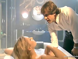 Fervent sex scenes from 'Monamour' movie starring blonde actress Anna Jimskaia