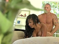 Latina Sadie Santana and man were married but it didn't prevent them from cheating on their significant others 7