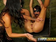 Torturer loves to feel power over victim tormenting and bringing bittersweet pleasure to her 3