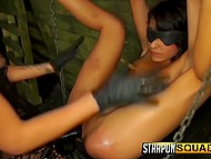 Torturer loves to feel power over victim tormenting and bringing bittersweet pleasure to her 5