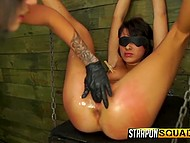 Torturer loves to feel power over victim tormenting and bringing bittersweet pleasure to her 8
