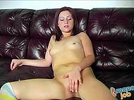 Flirt is fond of giving a handjob and works out another two fucksticks with pleasure 5