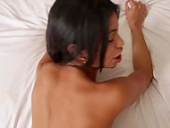 Pigtailed Latina Veronica Rodriguez dressed up like a naughty schoolgirl showed cocksucking and fucking skills 5