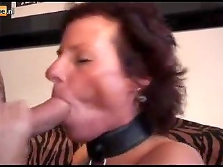Dude warmed up meticulously vagina of mature Dutch in leopard outfit before bringing penis into play