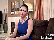 Shaved cunt of super-hot wife doesn't satisfy insatiable husband and he cheats on her at every opportunity 6