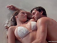 Intimate scenes from 'Three' movie starring gorgeous British actress Kelly Brook