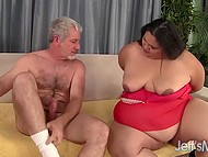 Fat girl found out about casting for her kind and instantly sprinted in there to be fucked 5
