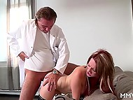 Doctor pulled husband aside and hinted that only threesome sex would be able to cure sick wife 7