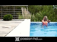Long foreplay with wonderful Hungarian Christen Courtney resulted in outdoor sex 4