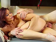 Big-boobied MILF with exotic tattoos gave visitor unforgettable Nuru massage 10