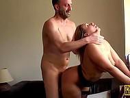 Lustful slut with a huge ass needs a portion of sperm every day to maintain good mood 11