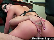 Secretary Angelica Raven was sad after being fired but good-tempered colleague knew the way to make her feel happy 9