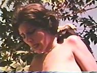 Датские лесбияночки с волосатыми щёлками шалят при помощи страпона и дилдона в винтажном пореве 3