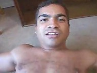 Brazilian porn video with muscular buddy bonging bronzed ladyboy's asshole 9
