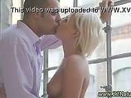 Inamorato licked sweetie's pussy and she thanks him with mesmerizing blowjob 5