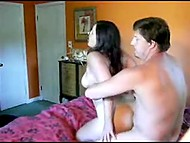 Amateur camera captures bronzed Turkish couple making love in doggystyle 11