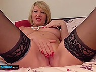 Mature honeys are still full of passion and they are proving it with the help of their toys in pussies 11