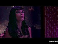 Erotic scene from full-length movie with beautiful French actress Emmanuelle Beart 7