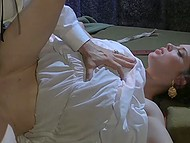 Dracula overmastered young lady's will and nailed properly natty vagina right in the cell 8