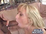 Tireless hottie with white hair was fucked both in little pussy and tiny anal hole by big man 11