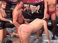 German circus performers presented special show with elements of group sex and soft femdom 10