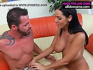 Genie as ravishing bombshell from Italy fulfills any desire of bearded lucky man 6