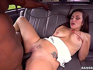 Arousing colleen feels a lot of pleasure from massive black dick deep inside the white pussy 8
