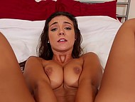 Knockout Tomi Taylor with natural tits has been waiting all day long to make some noise with dude 6