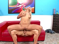 Bald fucker easily brought heavenly delights to unforgettable colleen in high heels 4