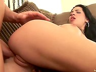 Elegant Latina was in need of penis that's why allowed muscular macho to take liberties with her butt 6