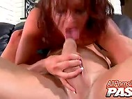 Stripper with huge baps danced by the pole and had great performance on strong dick 9