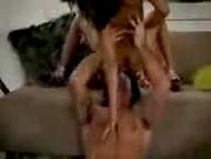 Леопардовое бельишко не задержалось на обалденном теле Priya Rai, так как мужик быстро перешёл к ебле 4