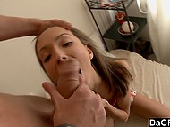Cup of coffee and anal fucking in doggystyle makes fragile lass' morning much better 4