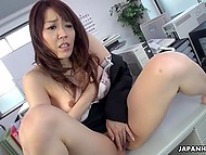 Humble Japanese executes all the mistress' commands without any questions 6
