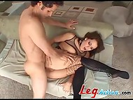 Slut loves to be screwed hard and humiliated by buddy feeling his power over her 7