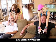 Glamour babies came across to stepfathers to make them allow their idea of going to party 8