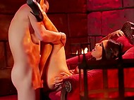 Nobleman nailed unmatched Asian Asa Akira and ejaculated on feet in the fortress 6