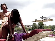 Wonderful sex in the open air brought black good-time girl unforgettable pleasure 8
