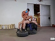 Young guys found a secluded place and had a lot of fun penetrating each other's asshole 10