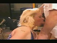 Serbian housemaid with blonde hair does it with client without second thought just for 50 euro 9